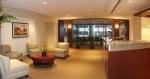 Reception area at Lakeshore inIrvine