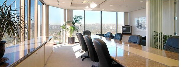 Conference Room in Century City Executive Suites | Office Blvd ...