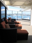 newport beach lounge with ocean view